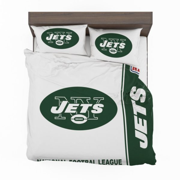 NFL New York Jets Bedding Comforter Set 4 2