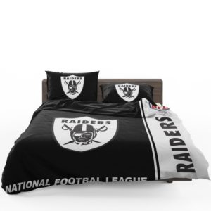 NFL Oakland Raiders Bedding Comforter Set