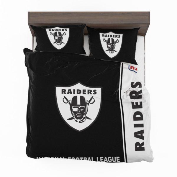 NFL Oakland Raiders Bedding Comforter Set 4 2