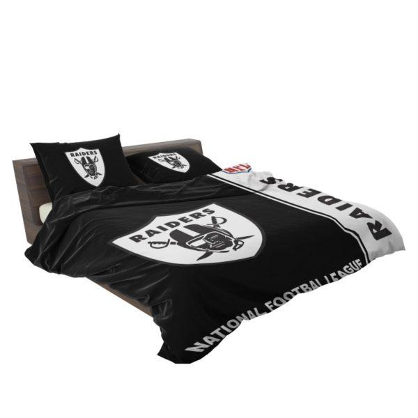 NFL Oakland Raiders Bedding Comforter Set 4 3