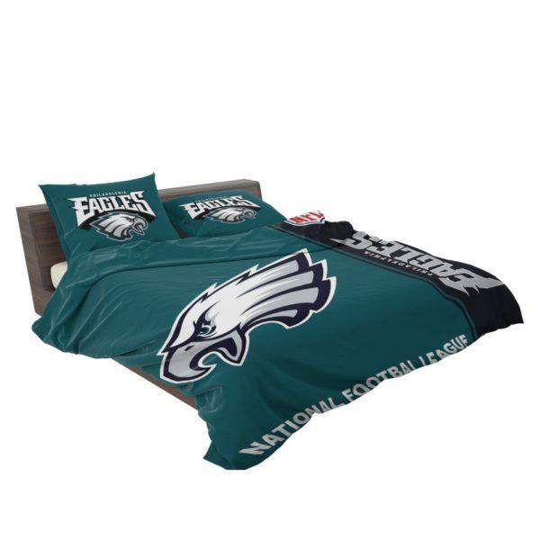 NFL Philadelphia Eagles Bedding Comforter Set 4 3