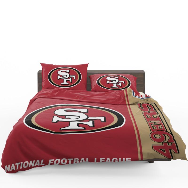 Buy Nfl San Francisco 49ers Bedding Comforter Set Up To