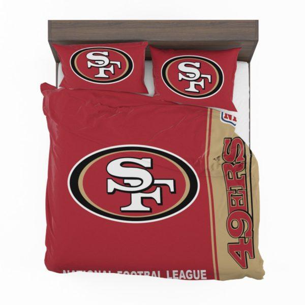 NFL San Francisco 49ers Bedding Comforter Set 4 2