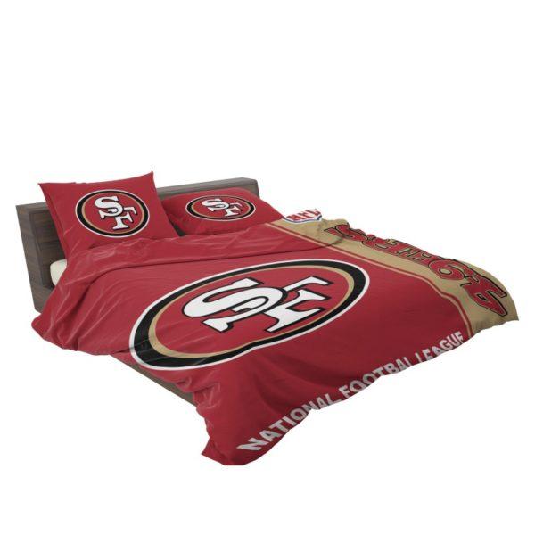 NFL San Francisco 49ers Bedding Comforter Set 4 3