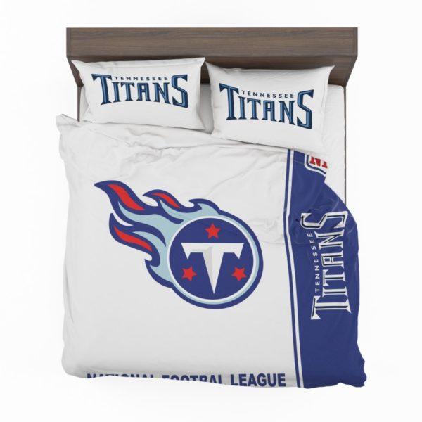 NFL Tennessee Titans Bedding Comforter Set 4 2