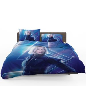 Natasha Romanoff Black Widow Marvel Avenger Bedding Set