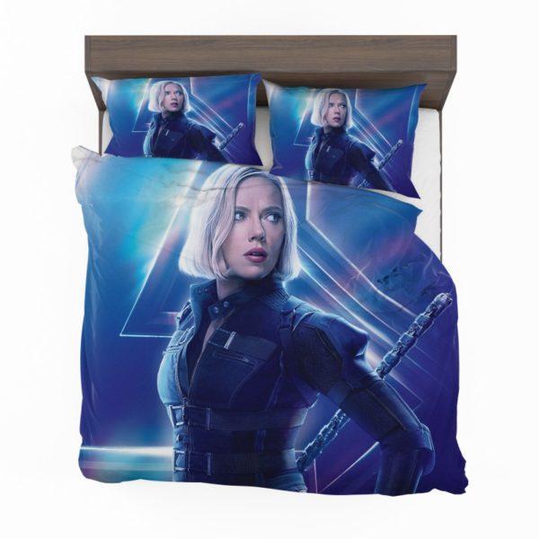 Natasha Romanoff Black Widow Marvel Avenger Bedding Set2