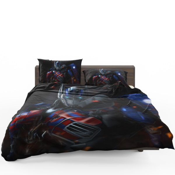 Optimus Prime Artwork Transformers Movie Bedding Set