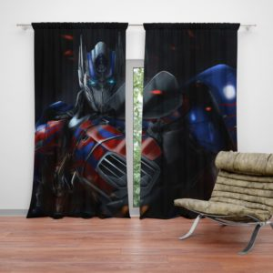 Optimus Prime Artwork Transformers Movie Curtain