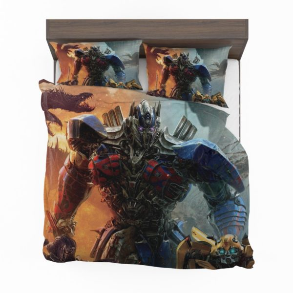 Optimus Prime Transformers the Last Knight Bedding Set2