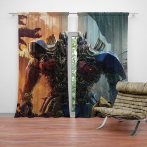 Optimus Prime Transformers the Last Knight Curtain