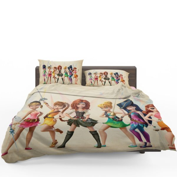 Pirate Fairy the Pirate Fairy Little Girls Bedding Set 3