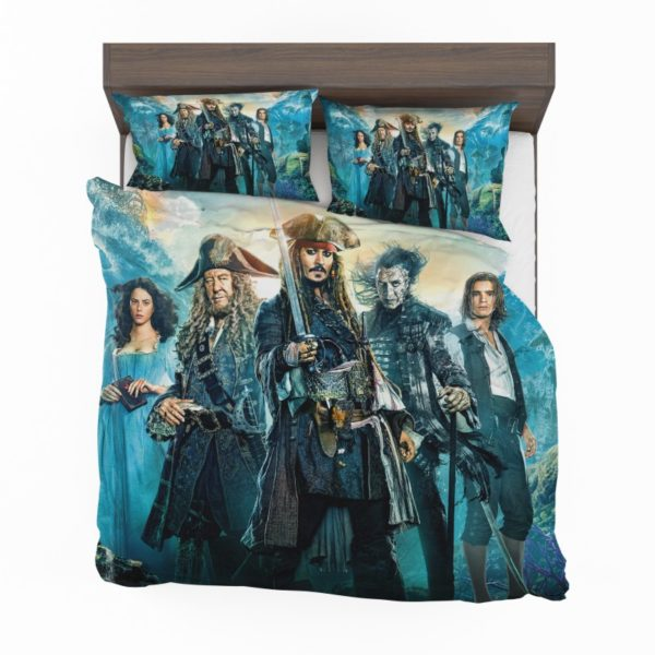 Pirates of the Caribbean Dead Men Bedding Set2