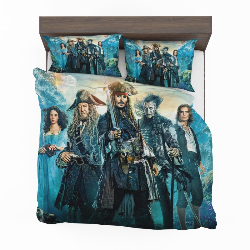 Pirates Of The Caribbean Dead Men Bedding Set Ebeddingsets
