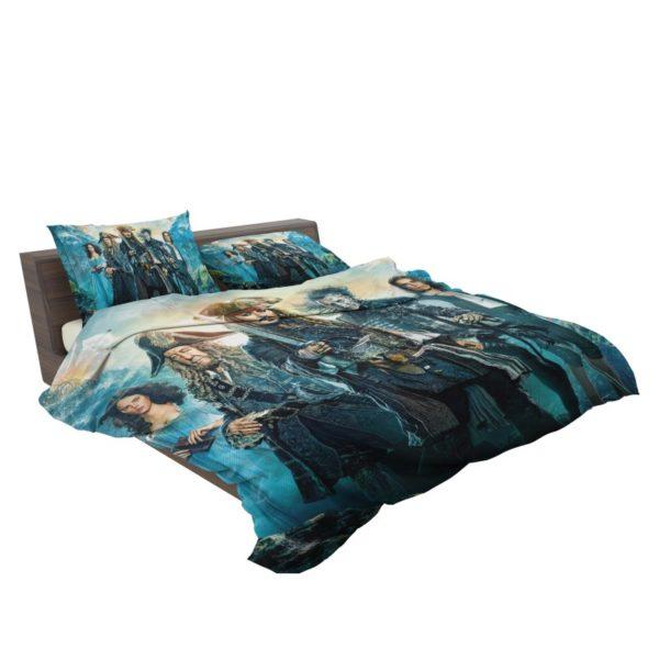 Pirates of the Caribbean Dead Men Bedding Set3