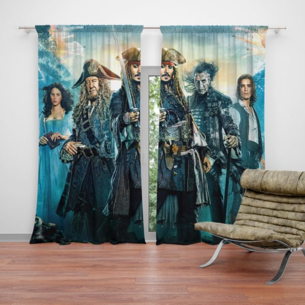 Pirates of the Caribbean Dead Men Curtain