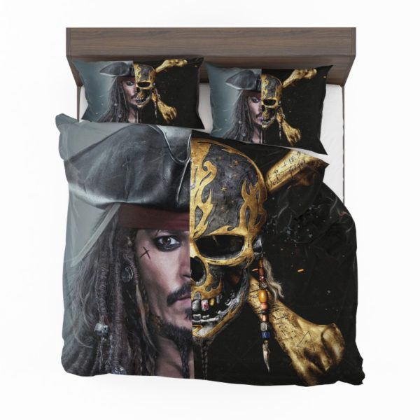 Pirates of the Caribbean Johnny Depp Bedding Set2