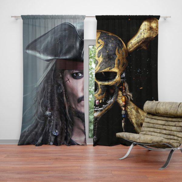 Pirates of the Caribbean Johnny Depp Curtain