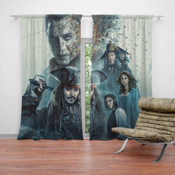 Pirates of the Caribbean Salazar Revenge Curtain