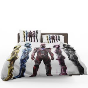 Power Rangers 5 Movie Bed in a Bag Set