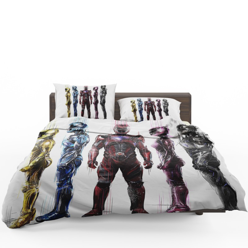 Power Rangers 5 Movie Bed In A Bag Set Ebeddingsets