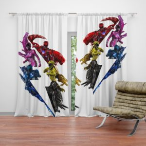 Power Rangers 5 Movie Curtain