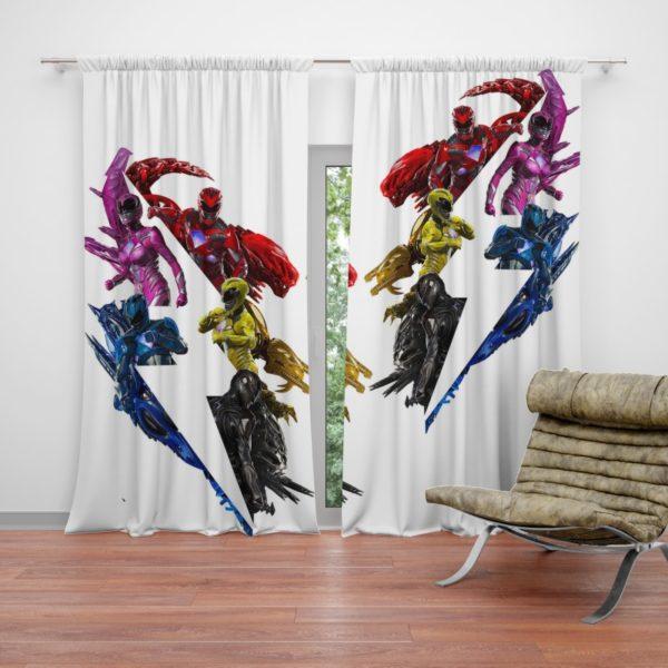 Power Rangers 5 Movie Curtain