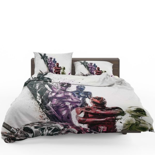 Power Rangers 5 Movie Themed Bed Linen Set