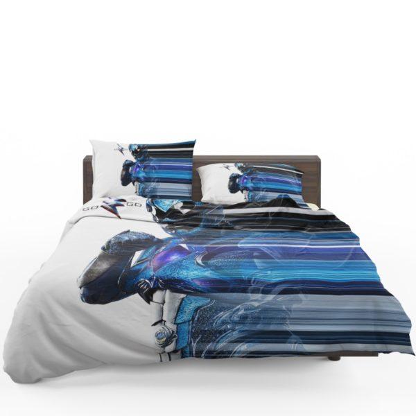 Power Rangers the Blue Ranger Bedding Set