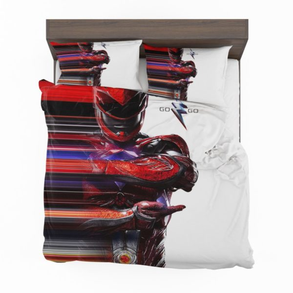 Power Rangers the Red Ranger Bedding Set2
