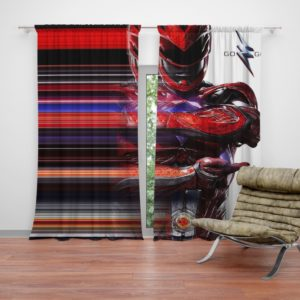 Power Rangers the Red Ranger Curtain