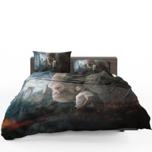Rampage Dwayne Johnson Movie Bedding Set