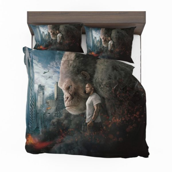 Rampage Dwayne Johnson Movie Bedding Set2