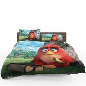 Red Angry Birds Movie Bedding Set
