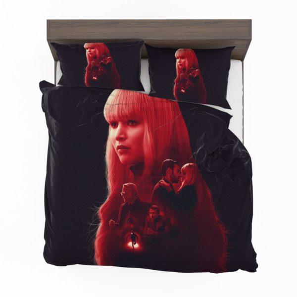 Red Sparrow Movie Bedding Set2