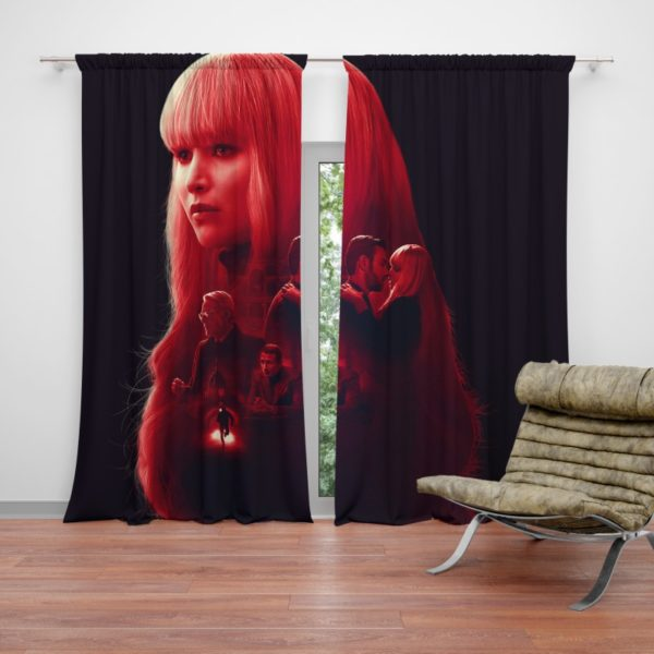 Red Sparrow Movie Curtain