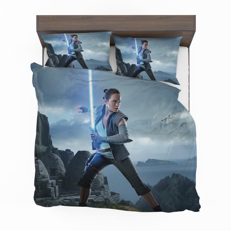 Rey Star Wars The Last Jedi Daisy Ridley Bedding Set