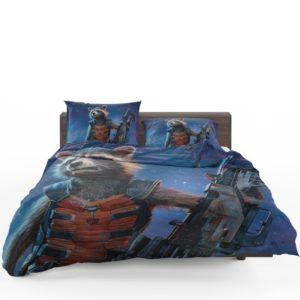 Rocket Raccoon Guardians of the Galaxy Bedding Set