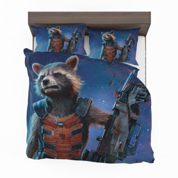 Rocket Raccoon Guardians of the Galaxy Bedding Set2