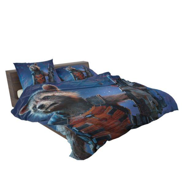 Rocket Raccoon Guardians of the Galaxy Bedding Set3