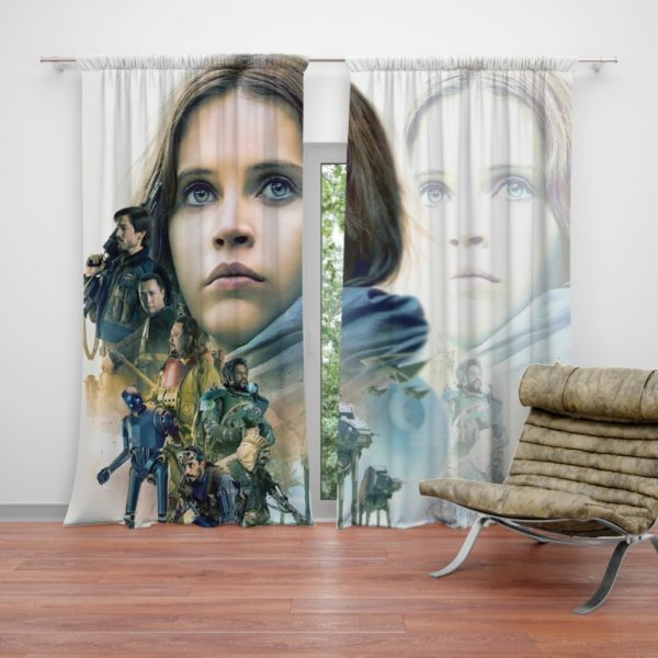 Rogue One A Star Wars Story Movie Curtain