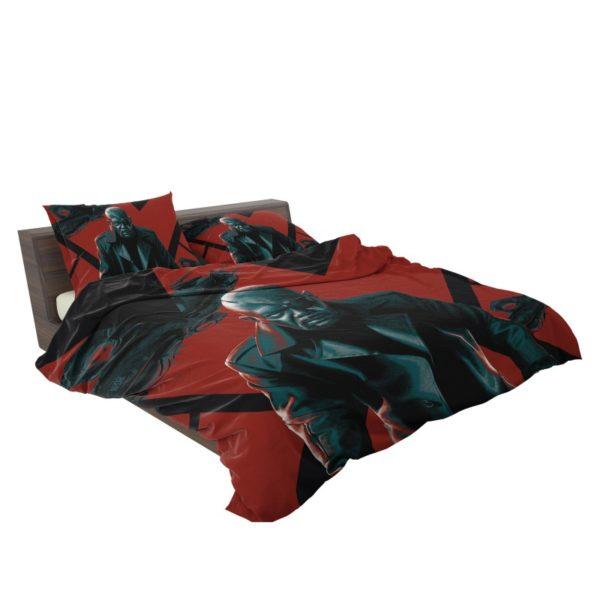 Samuel L Jackson Nick Fury Marvel Comics Bedding Set3