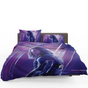 Sebastian Stan Bucky Barnes White Marvel Avenger Bedding Set