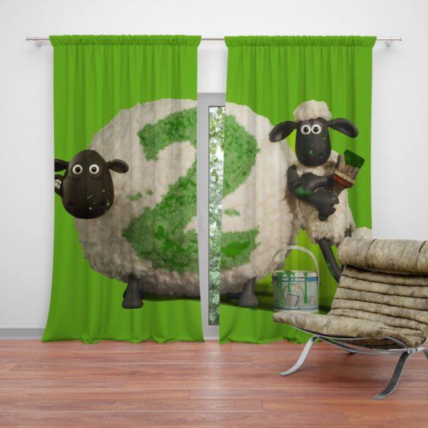 Shaun The Sheep movie Curtain