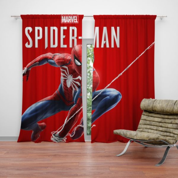 Spider Man Comics Marvel Avengers Curtain