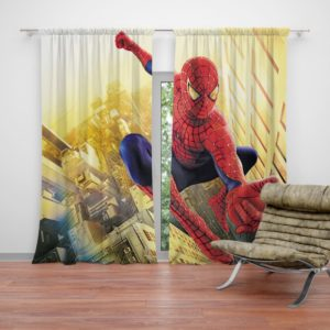 Spider Man Marvel Comics Avengers Curtain