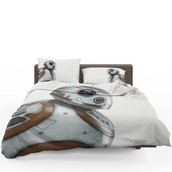 Star Wars Force Awakens Sci Fi Disney Action Futuristic Bedding Set 3