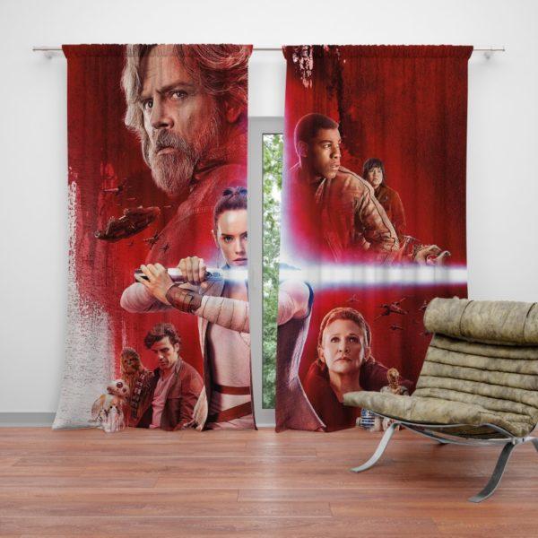 Star Wars The Last Jedi Curtain