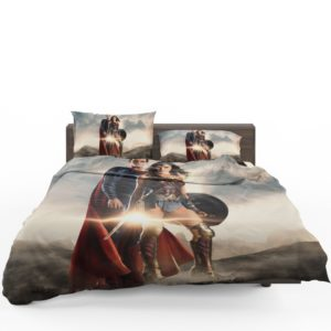 Superman And Wonder Woman Bedding Set