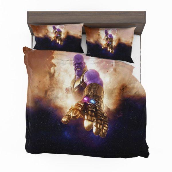 Thanos Avengers Infinity War Bedding Set2